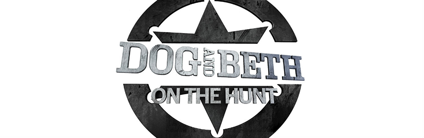 Dog and Beth on the Hunt logo